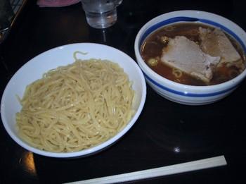 チャーシュー入りつけ麺(あつもり)